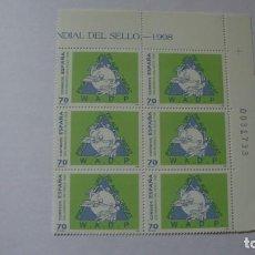 Sellos: ESPAÑA 1988 EDIFIL 3589/3590/3591 NUEVOS PERFECTOS EN BLOQUE DE 6. Lote 235537815