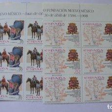 Sellos: ESPAÑA 1998 EDIFIL 3598/99 Y 3604 NUEVOS EN BLOQUE DE 6 PERFECTOS. Lote 235543455