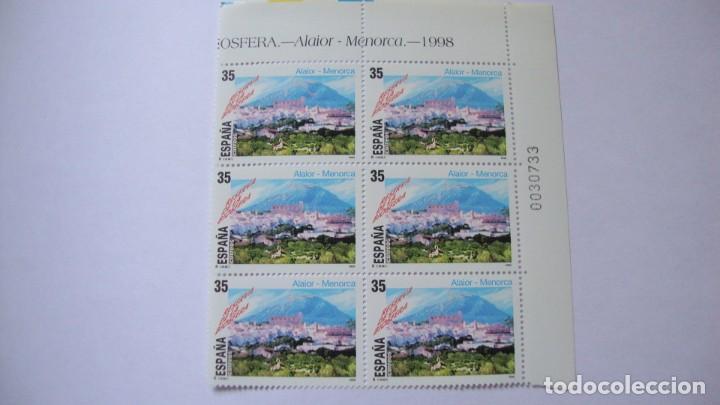 Sellos: ESPAÑA 1998 EDIFIL 3598/99 Y 3604 NUEVOS EN BLOQUE DE 6 PERFECTOS - Foto 2 - 235543455