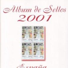 Timbres: SELLOS ESPAÑA OFERTA 2001 SUPLEMENTOS MONTADOS EN TRANSPARENTE PARA BLOQUE DE 4 FILABO. Lote 235557165