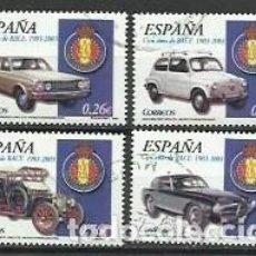 Sellos: AÑO 2003.-SERIE 100 AÑOS RACE.-EDIFIL 3996 A-96 D.-COMPLETA. Lote 235962790