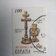 Sellos: ESPAÑA 2000 3701 EDADES HOMBRE. Lote 236006300