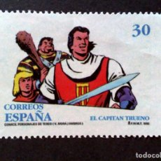 Sellos: ESPAÑA:EDIFIL 3359 (O MH) COMICS-CAPITAN TRUENO,AÑO 1995.. Lote 236078205