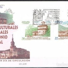 Sellos: [B0001] ESPAÑA 1999; FDC PATRIMONIO DE LA HUMANIDAD. Lote 236216865