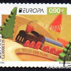 Sellos: EDIFIL 4982 2015 ESPAÑA EMISIÓN EUROPA. JUGUETES ANTIGUOS USADO. Lote 236268200