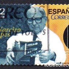 Sellos: EDIFIL 4996 2015 ESPAÑA PERSONALIDADES. NARCISO YEPES, 1.927 - 1.997. GUITARRISTA USADO. Lote 236268320