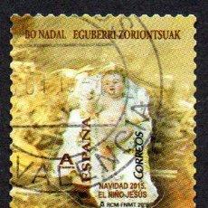 Sellos: EDIFIL 5028 2015 ESPAÑA NAVIDAD. USADO. Lote 236268445