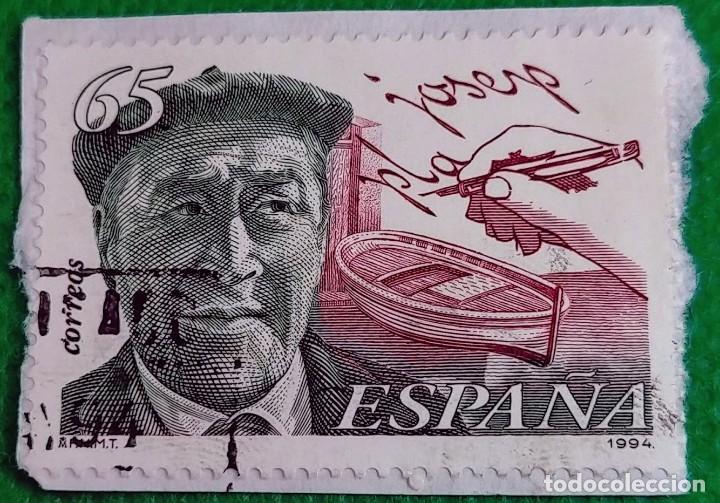 SELLO DE ESPAÑA 1994 HOMENAJE A JOSEP PLA 3297 (Sellos - España - Juan Carlos I - Desde 1.986 a 1.999 - Usados)