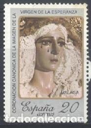 ESPAÑA - AÑO 1988 - EDIFIL 2954 - VIRGEN DE LA ESPERANZA - USADO (Sellos - España - Juan Carlos I - Desde 1.986 a 1.999 - Usados)