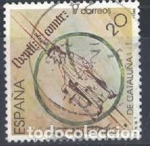 ESPAÑA - AÑO 1988 - EDIFIL 2960 - MILENARIO DE CATALUÑA - USADO (Sellos - España - Juan Carlos I - Desde 1.986 a 1.999 - Usados)