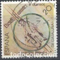 Sellos: ESPAÑA - AÑO 1988 - EDIFIL 2960 - MILENARIO DE CATALUÑA - USADO. Lote 236513965