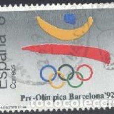 Sellos: ESPAÑA - AÑO 1988 - EDIFIL 2963 - BARCELONA '92 - I SERIE PREOLÍMPICA - USADO. Lote 236514145
