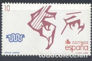 ESPAÑA - AÑO 1988 - EDIFIL 2969 - Vº CENTENARIO DEL DESCUBRIMIENTO DE AMÉRICA - USADO (Sellos - España - Juan Carlos I - Desde 1.986 a 1.999 - Usados)