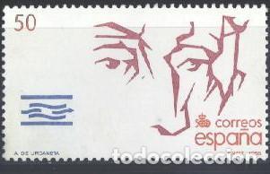 ESPAÑA - AÑO 1988 - EDIFIL 2974 - Vº CENTENARIO DEL DESCUBRIMIENTO DE AMÉRICA - USADO (Sellos - España - Juan Carlos I - Desde 1.986 a 1.999 - Usados)