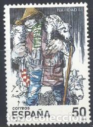 ESPAÑA - AÑO 1988 - EDIFIL 2977 - NAVIDAD - USADO (Sellos - España - Juan Carlos I - Desde 1.986 a 1.999 - Usados)