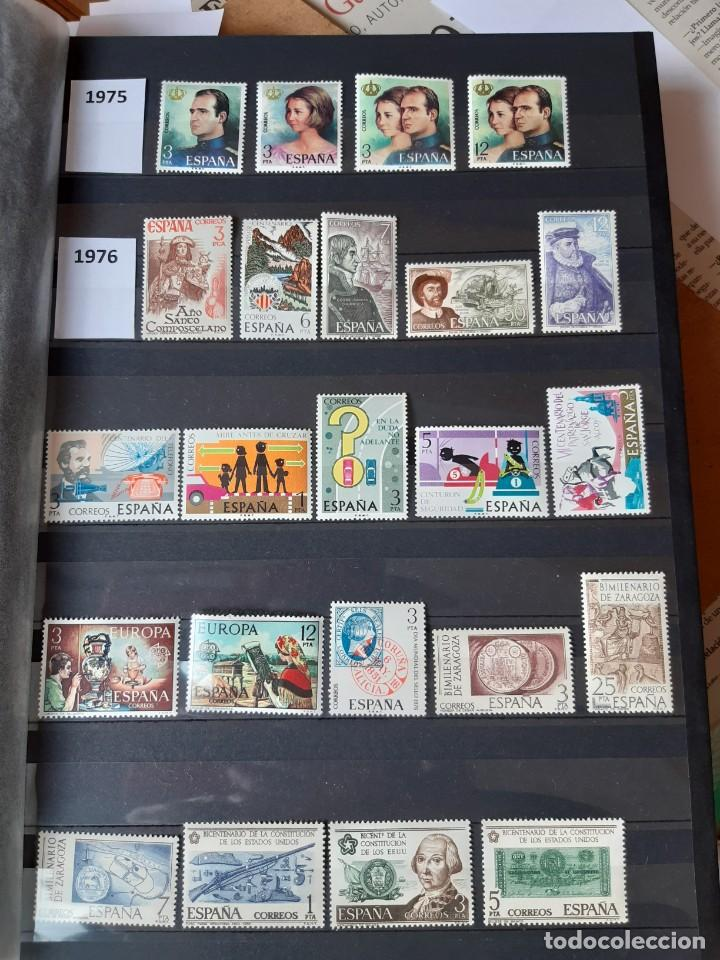Sellos: GRAN COLECCION DE SELLOS DE ESPAÑA 1975 - 2009 - Foto 5 - 236812485