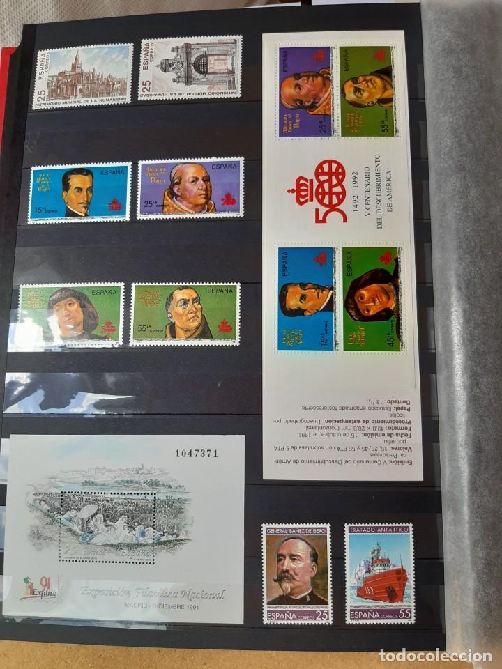Sellos: GRAN COLECCION DE SELLOS DE ESPAÑA 1975 - 2009 - Foto 7 - 236812485