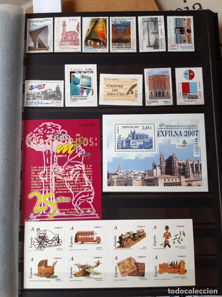 Sellos: GRAN COLECCION DE SELLOS DE ESPAÑA 1975 - 2009 - Foto 13 - 236812485