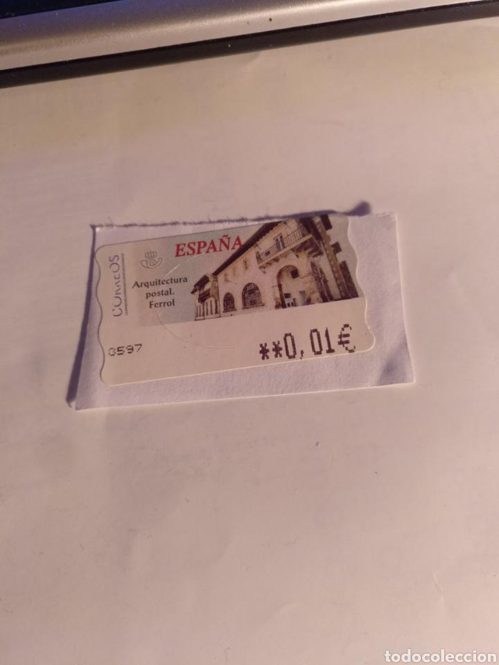 ESPAÑA SELLO ATMS (Sellos - España - Juan Carlos I - Desde 2.000 - Usados)