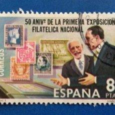 Sellos: USADO. AÑO 1980. EDIFIL 2576. 50 ANIVERSARIO DE LA PRIMERA EXPOSICIÓN FILATÉLICA NACIONAL.. Lote 236863085