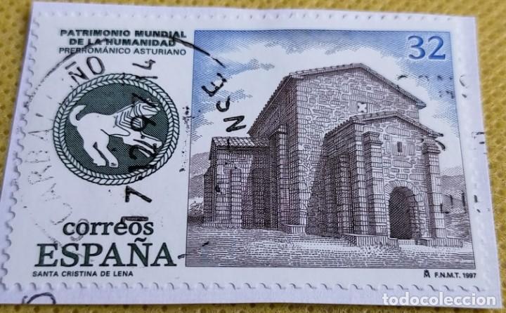 Sellos: 2 Sellos España 1997 Patrimonio Mundial 3508/3509 - Foto 2 - 236907415