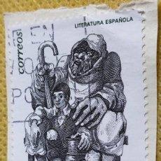 Timbres: 2 SELLOS ESPAÑA 1997 LITERATURA ESPAÑOLA. EL LAZARILLO Y EL SENECA 3483/3484. Lote 237000260