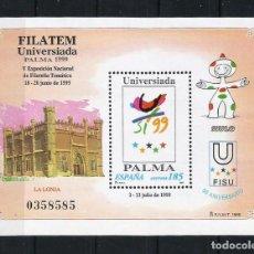 Sellos: ESPAÑA 1999 - EDIFIL 3648** - FILATEM-UNIVERSIADA PALMA - MNH. Lote 237035720