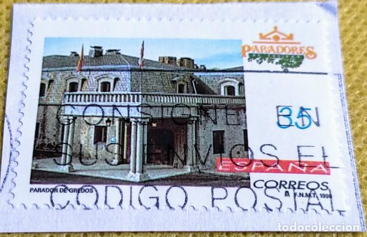 SELLO ESPAÑA 1998 PARADOR DE GREDOS 3533 (Sellos - España - Juan Carlos I - Desde 1.986 a 1.999 - Usados)