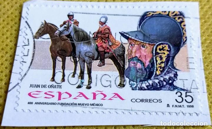 SELLO ESPAÑA 1998 – 400 ANIVERSARIO NUEVO MÉXICO 3598 (Sellos - España - Juan Carlos I - Desde 1.986 a 1.999 - Usados)