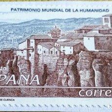Sellos: SELLO ESPAÑA 1998 CIUDAD FORTIFICADA DE CUENCA 3558. Lote 237473525