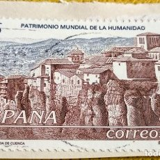 Sellos: SELLO ESPAÑA 1998 CIUDAD FORTIFICADA DE CUENCA 3558. Lote 237473785
