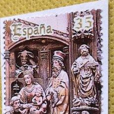 Sellos: SELLO ESPAÑA 1998 RETABLO SEO ZARAGOZA SH3595B. Lote 237479630