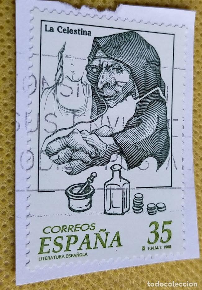 SELLO ESPAÑA 1998 LA CELESTINA 3538 (Sellos - España - Juan Carlos I - Desde 1.986 a 1.999 - Usados)