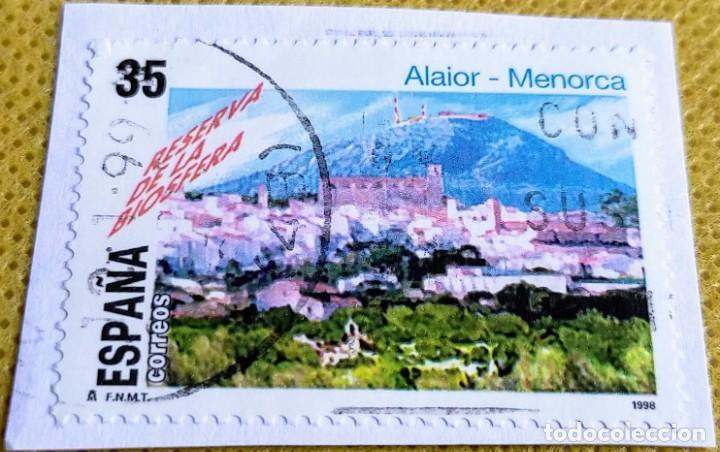 SELLO ESPAÑA 1998 RESERVA DE LA BIOSFERA. ALAIOR (MENORCA) 3604 (Sellos - España - Juan Carlos I - Desde 1.986 a 1.999 - Usados)