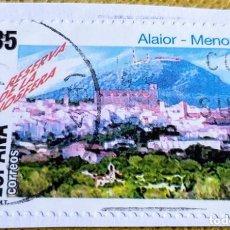 Sellos: SELLO ESPAÑA 1998 RESERVA DE LA BIOSFERA. ALAIOR (MENORCA) 3604. Lote 237481870