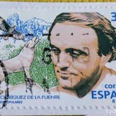 Sellos: SELLO ESPAÑA 1998 FÉLIX RODRÍGUEZ DE LA FUENTE 3546. Lote 237483490