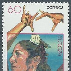 Selos: 1996. ESPAÑA. EDIFIL 3434**MNH. EUROPA. MUJERES CÉLEBRES. CARMEN AMAYA.. Lote 238101440