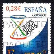 Timbres: EDIFIL 4163 ESPAÑA 2005 AÑO INTERNACIONAL DE LA FÍSICA. USADO. Lote 238125770