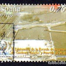 Timbres: EDIFIL 3967B ESPAÑA 2003 II CENTENARIO DE LA ESCUELA DE INGENIEROS DE CAMINOS DE MADRID. USADO. Lote 238202820