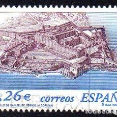 Timbres: EDIFIL 3986 ESPAÑA 2003 CASTILLOS. USADO. Lote 238204070