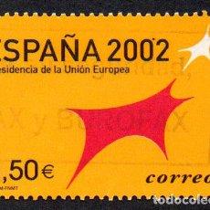Timbres: EDIFIL 3866 ESPAÑA 2002 PRESIDENCIA ESPAÑOLA DE LA UNIÓN EUROPEA. USADO. Lote 238220775