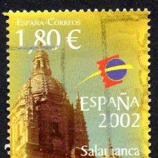 Timbres: EDIFIL 3878ESPAÑA 2002 EXPOSICIÓN MUNDIAL DE FILATELIA. SALAMANCA USADO. Lote 238223320