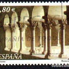 Timbres: EDIFIL 3893 ESPAÑA 2002 MILENARIOS. USADO. Lote 238224815