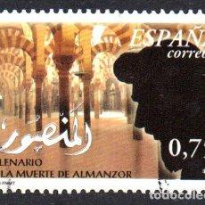 Timbres: EDIFIL 3934 ESPAÑA 2002 MILENARIO DE LA MUERTE DE ALMANZOR, USADO. Lote 238227595