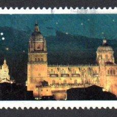 Timbres: EDIFIL 3813 ESPAÑA 2001 SALAMANCA 2.002. CAPITAL EUROPEA DE LA CULTURA. USADO. Lote 238281985