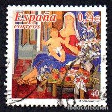 Timbres: EDIFIL 3835 ESPAÑA 2001 NAVIDAD. USADO. Lote 238283520