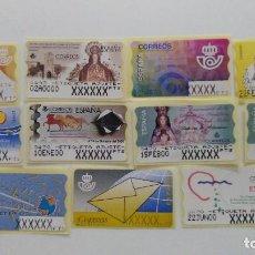 Sellos: 11 ATMS DE AJUSTE EN PESETAS. Lote 191220390