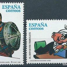 Selos: 1996. ESPAÑA. EDIFIL 3435/6**MNH. COMICS. EL JABATO. EL REPORTER TRIBULETE.. Lote 239716115
