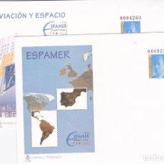 Sellos: ESPAÑA.- SOBRES ENTEROS POSTALES DE ESPAMER 1996 DE SEVILLA NUEVOS. Lote 240178475
