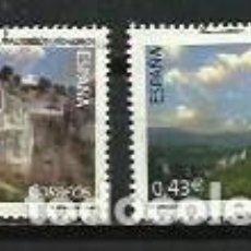 Selos: AÑO 2009.-EDIFIL 4480-81.-SERIE NATURALEZA.-COMPLETA. Lote 240229430